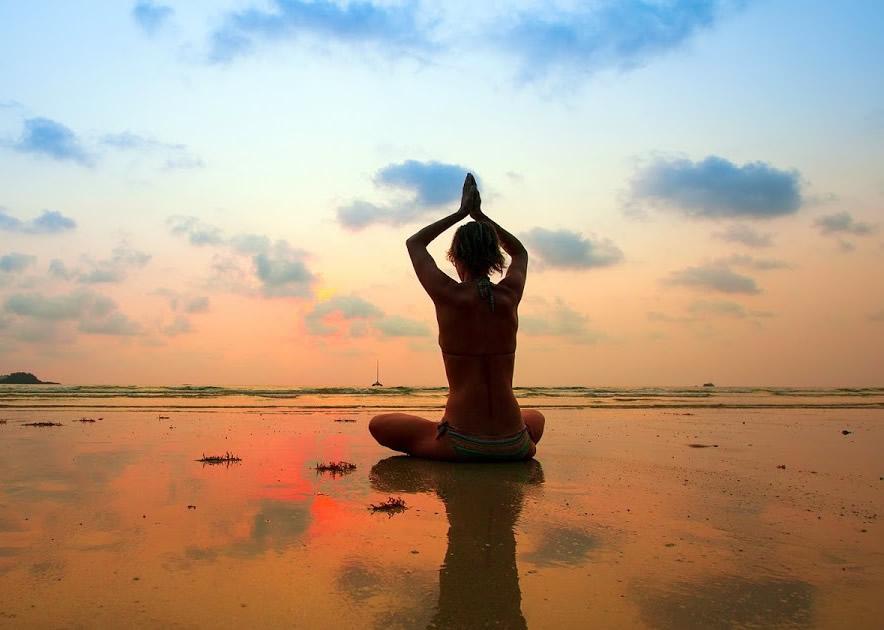 Yoga meditation day